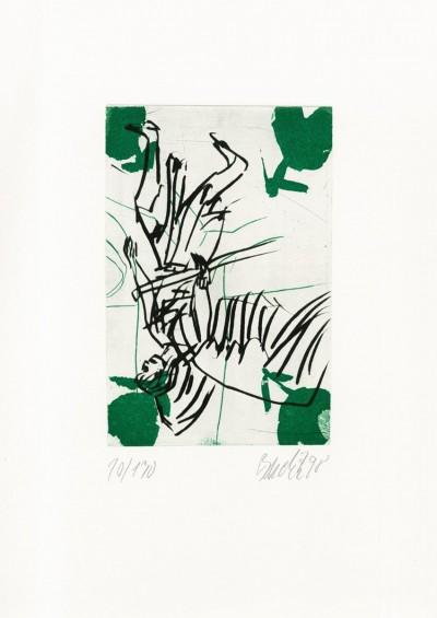 Der Bote (Heinrich Heil) by Georg Baselitz