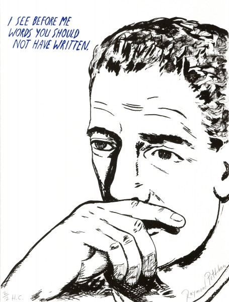 Raymond Pettibon, Untitled (I see before me...), 2002