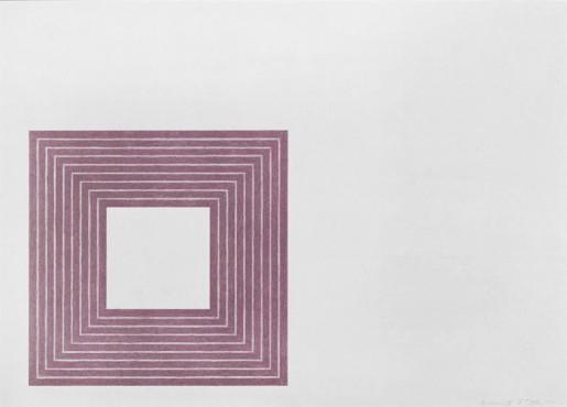 Frank Stella, Hollis Frampton, 1972