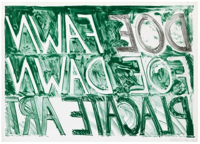 Bruce Nauman, Doe Fawn, 1973