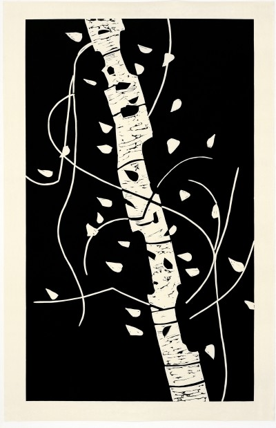 Alex Katz-Large Birch