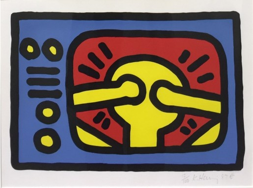 Keith Haring, Untitled C, 1987
