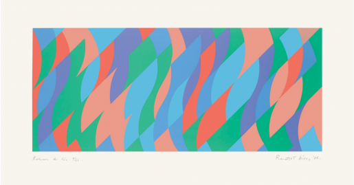 Bridget Riley, Between the Two, 2005