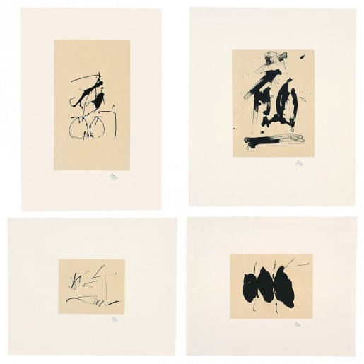 Robert Motherwell, Octavio Paz, Three Poems, The Limited Editions Club, New York, 1988