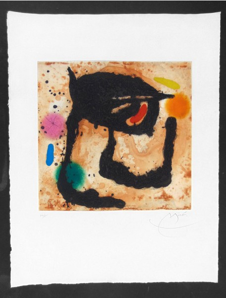 Joan Miró, The Dandy, 1969