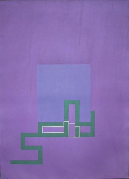 Robyn Denny, Autographs - Purple, 1981