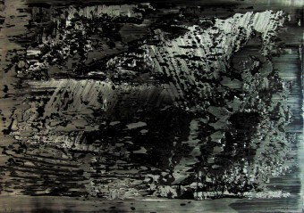 Abstraktes Foto (Abstract Photo) by Gerhard Richter