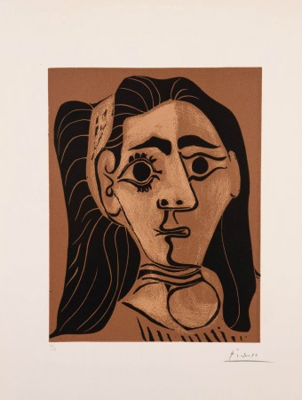Femme aux cheveux flous (Jacqueline au bandeau. II) by Pablo Picasso
