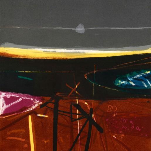 Barbara Rae, Downpatrick Storm, 2006