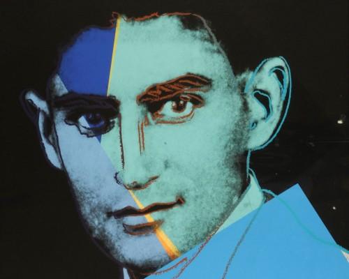 """Franz Kafka (FS II.226), from the Portfolio """"Ten Portraits of Jews of the Twentieth Century"""" by Andy Warhol"""