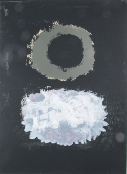 Adolph Gottlieb, Black Field, 1972
