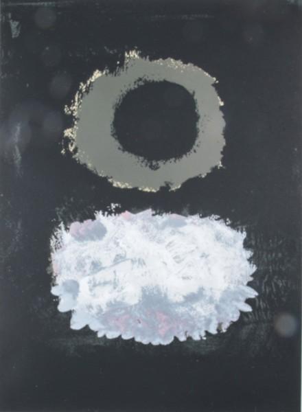Adolph Gottlieb, Black Field, 1972