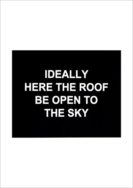 Laure Prouvost, Ideally here the roof be open to the sky, 2016