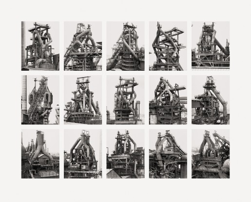 Bernd and Hilla Becher, Hochöfen (Blast Furnaces), 2007