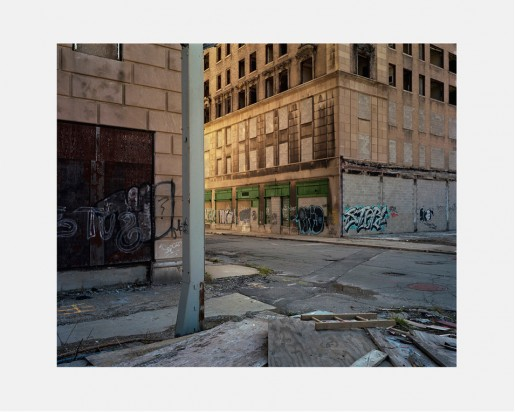 Dawin Meckel, Eddystone Hotel, Detroit, from DownTown - Detroit, 2009