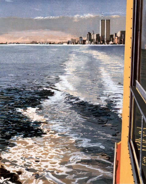 Richard Estes, Study VI, New York Harbor, 1997