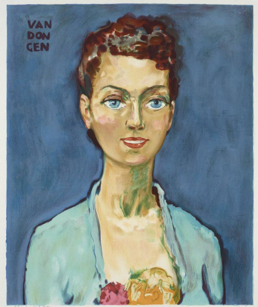 Kees van Dongen, Hommage à Marie-Claire, circa 1950