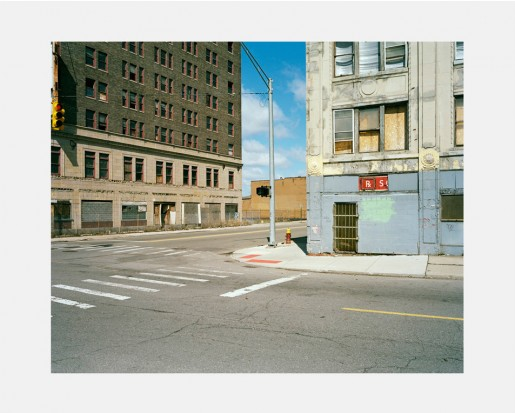 Dawin Meckel, city center #02, Detroit, from DownTown - Detroit, 2009