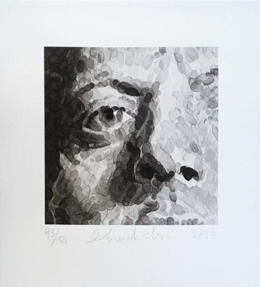 Chuck Close, Phil, 2007