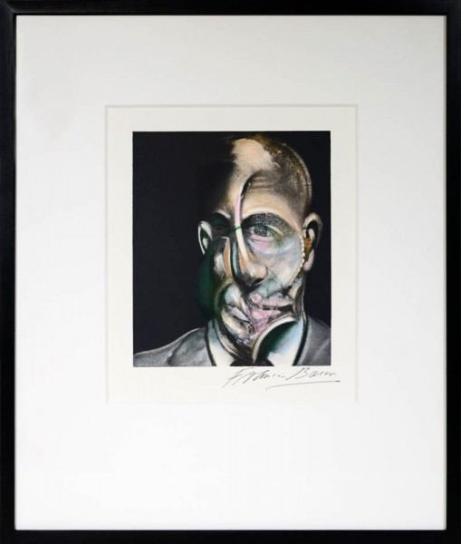 Francis Bacon, Portrait of Michel Leiris, 1990