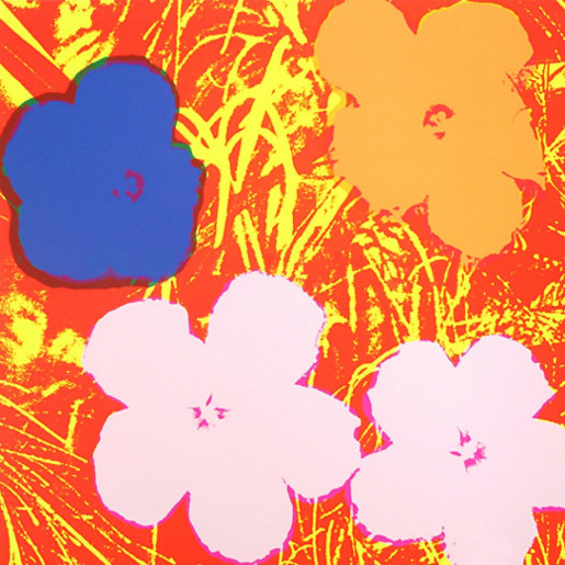 Andy Warhol, Flowers (FS II.69), 1970
