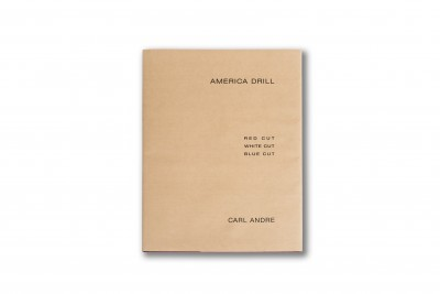 America Drill by Carl Andre
