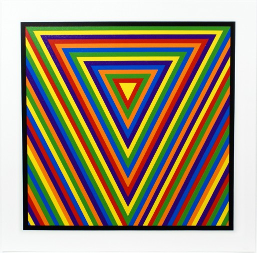 Sol LeWitt, Bands of Equal Width in Colour 2, 2000