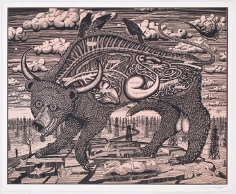 Animal Spirit (pink) by Grayson Perry