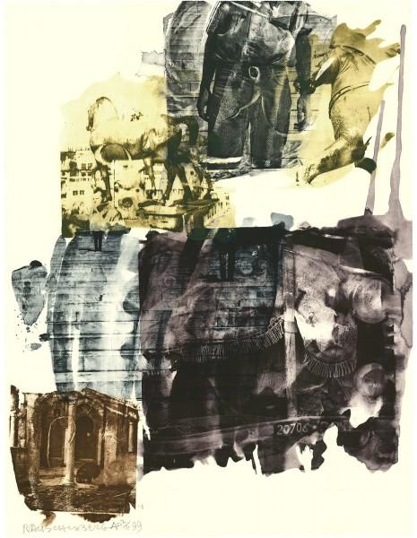 Robert Rauschenberg, Eagle Eye (Ruminations), 1999