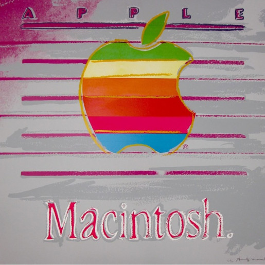 Andy Warhol, Apple Trial Proof (FS II.359), 1985