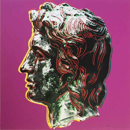Andy Warhol, Alexander the Great (FS II.291), 1982