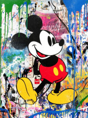Mr. Brainwash Mickey (Campbell's Soup)