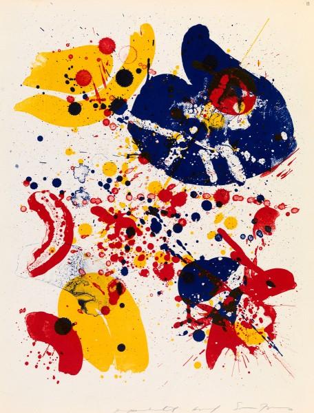 Sam Francis, An 8 Set - 6, 1963