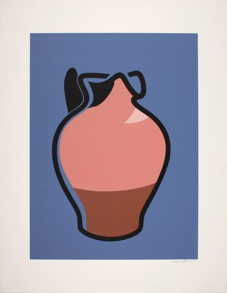 Patrick Caulfield, Brown Jug, 1981/1982