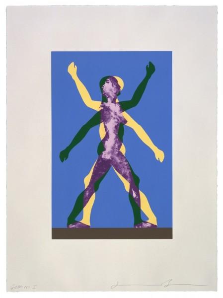 Jonathan Borofsky, Male/Female, 1999