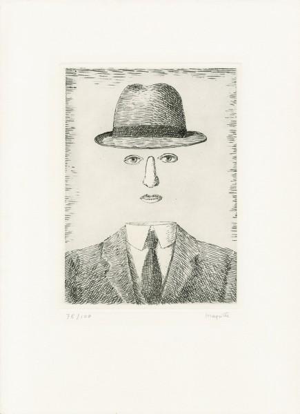 René Magritte, Paysage de Baucis, 1966