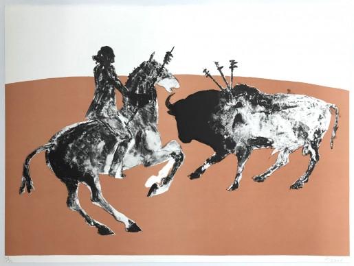 Elisabeth Frink, Rejoneadora Three, 1973