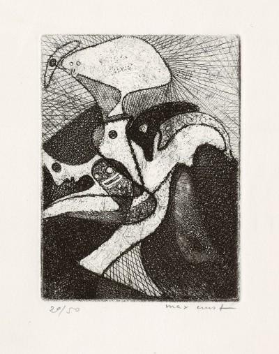 La loterie du jardin zoologique by Max Ernst