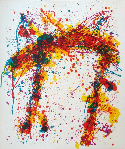 Sam Francis, Toward Disappearance, 1973