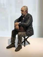 Maquette for Seated Figure