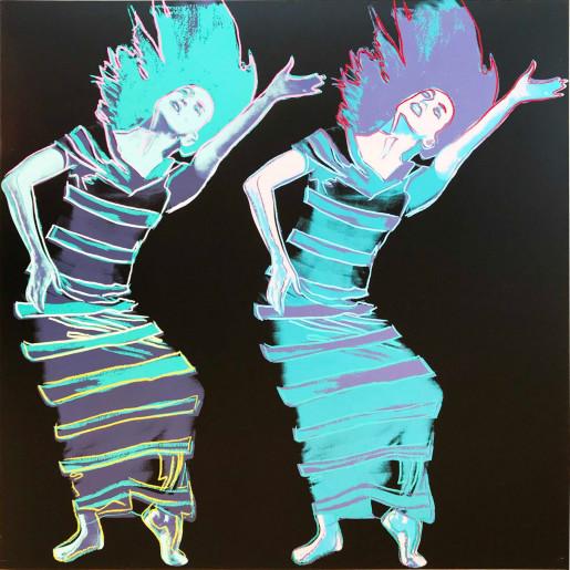 Andy Warhol, Martha Graham: Satyric Festival Song (FS II.387), 1986