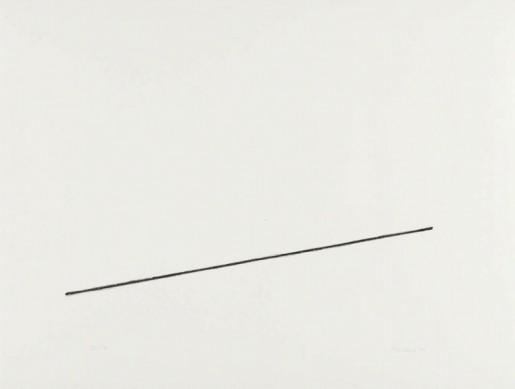 Fred Sandback, Untitled (Jahn #18), 1975