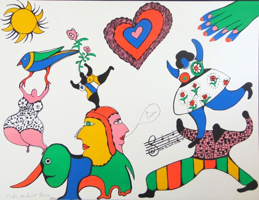 Niki de Saint Phalle, I Love You | Je t'aime, 1971