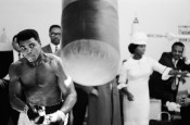 Ali Training Prior to a Fight