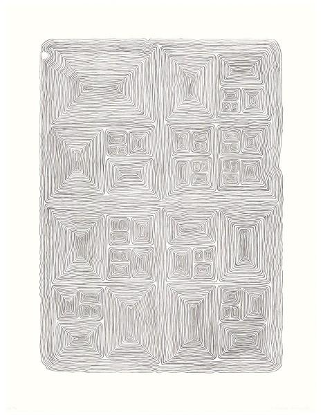 James Siena, Nested Unknot Variation, 2004