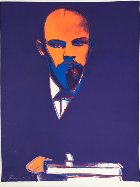 Andy Warhol, Lenin (FS IIB. 402), 1987