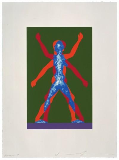 Jonathan Borofsky, Male/Female, 2000