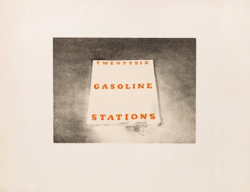 Ed Ruscha, Twenty Six Gasoline Stations, 1970