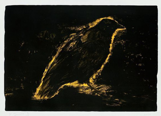 Jim Dine, Raven, Suns Night Glow, 2000