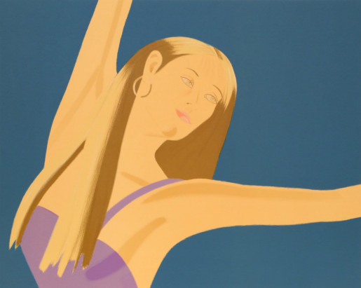Alex Katz, Night: William Dunas Dance 4 (Pamela), 1983
